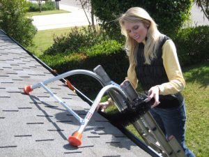 Ladder Safety for Gutters Cleaning